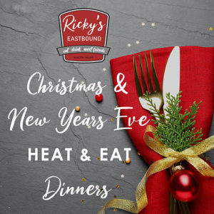 Holiday Heat + Eat Meals from Ricky's Eastbound